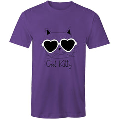 Woomes Loose T-Shirt - Cool Kitty