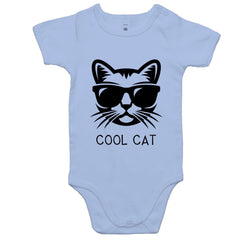 Baby Onesie Romper - Cool Cat