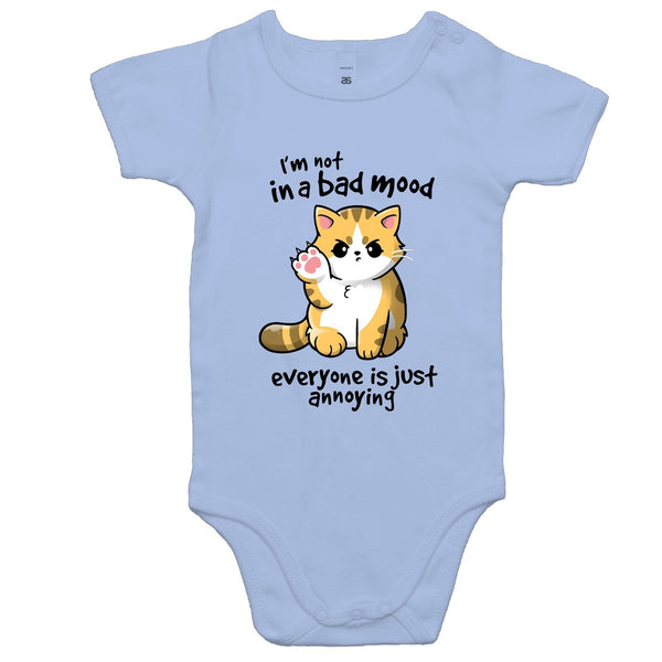 Baby Onesie Romper - Bad Mood