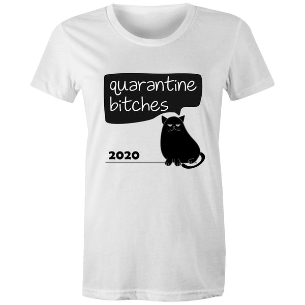 Women's standard T-Shirt - Cat Quarantine 2020