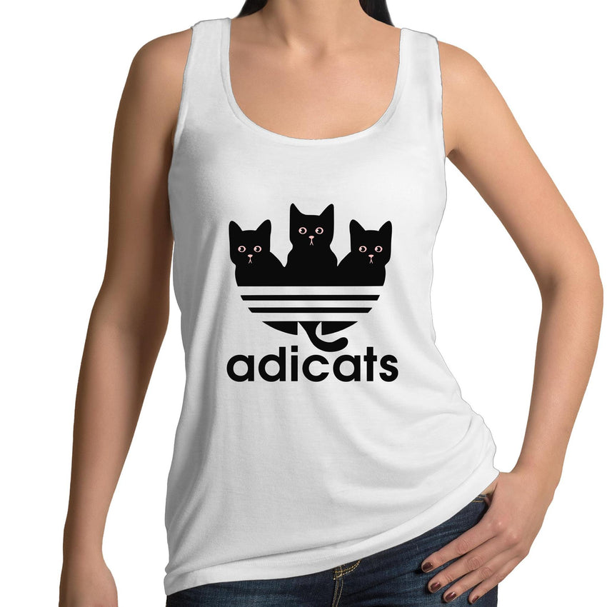 Womens Singlet - Addicats