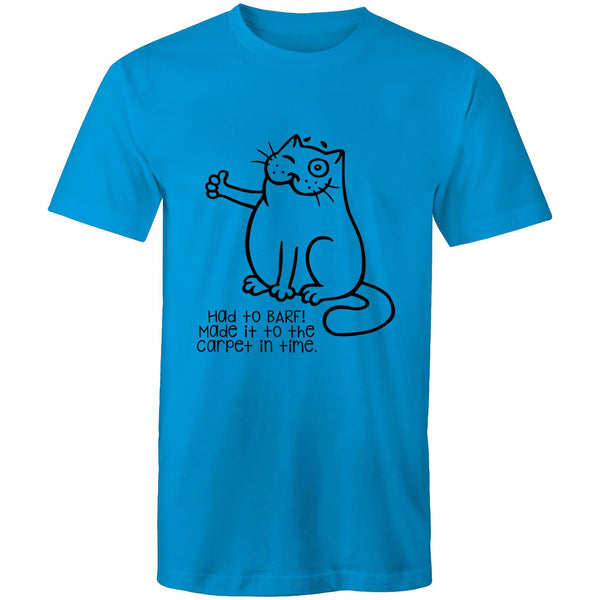 Mens T-Shirt - up to 5XL - Had to Barf!