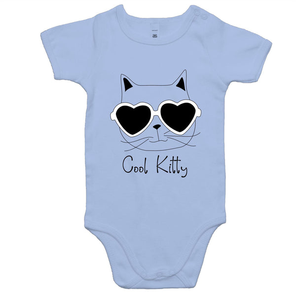 Baby Onesie Romper - Cool Kitty