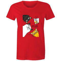 Womens standard T-shirt - What you doing?