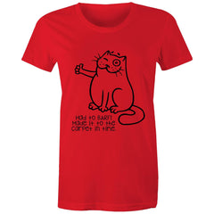Womens standard T-shirt - Had to Barf!