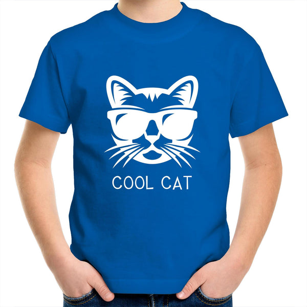 Kids Youth Crew T-Shirt - Cool Cat