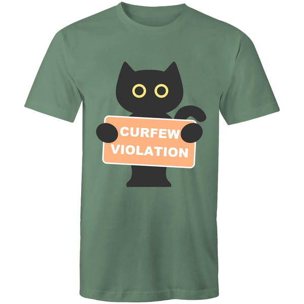 Womens Loose T-Shirt - Curfew Violation.