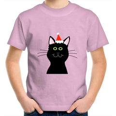 Kids Youth Crew T-Shirt - Cat in Hat