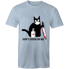 Mens T-Shirt - up to 5XL - Don't cough on me.