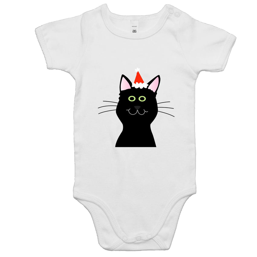 Baby Onesie Romper - Cat in Hat