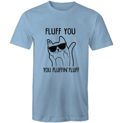 Womens Loose T-Shirt - Fluff you.