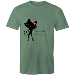 Womens Loose T-Shirt - Meow Meow