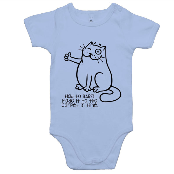 Baby Onesie Romper - Had to Barf