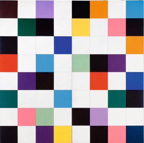 Custom Ellsworth Kelly Quilt