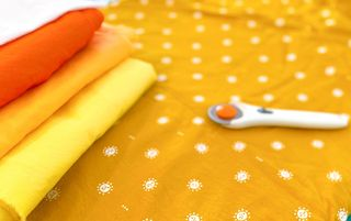 sun fabric with coordinating colors