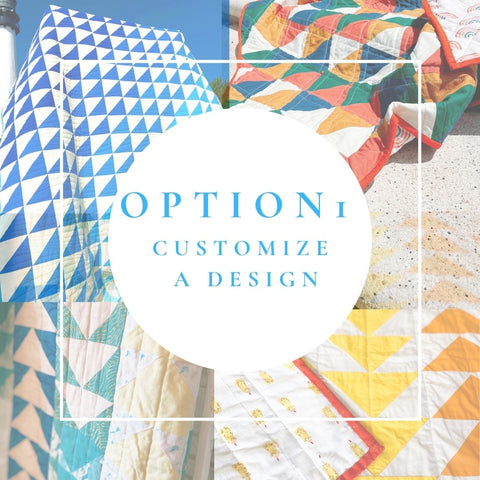 Design a Custom Quilt by Choosing Colors with an Existing Design
