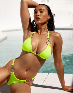 AMALFI BRAZILIAN BOTTOM - LIME PUNCH