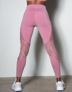 Flavia Leggings - Dusty Doll