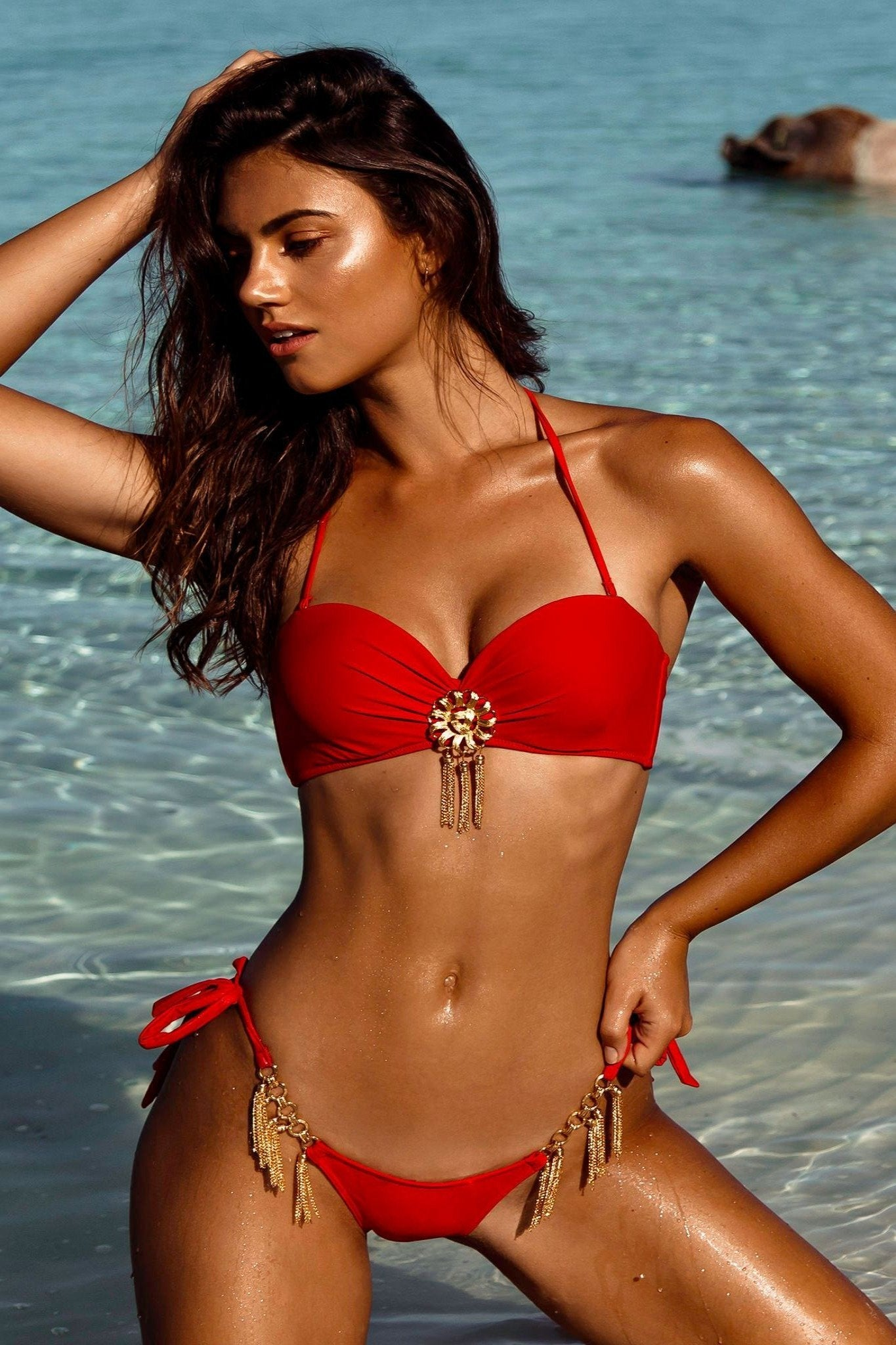 MOULIN ROUGE BIKINI TOP