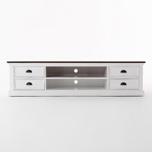 Load image into Gallery viewer, Halifax Accent TV Unit with 4 Drawers