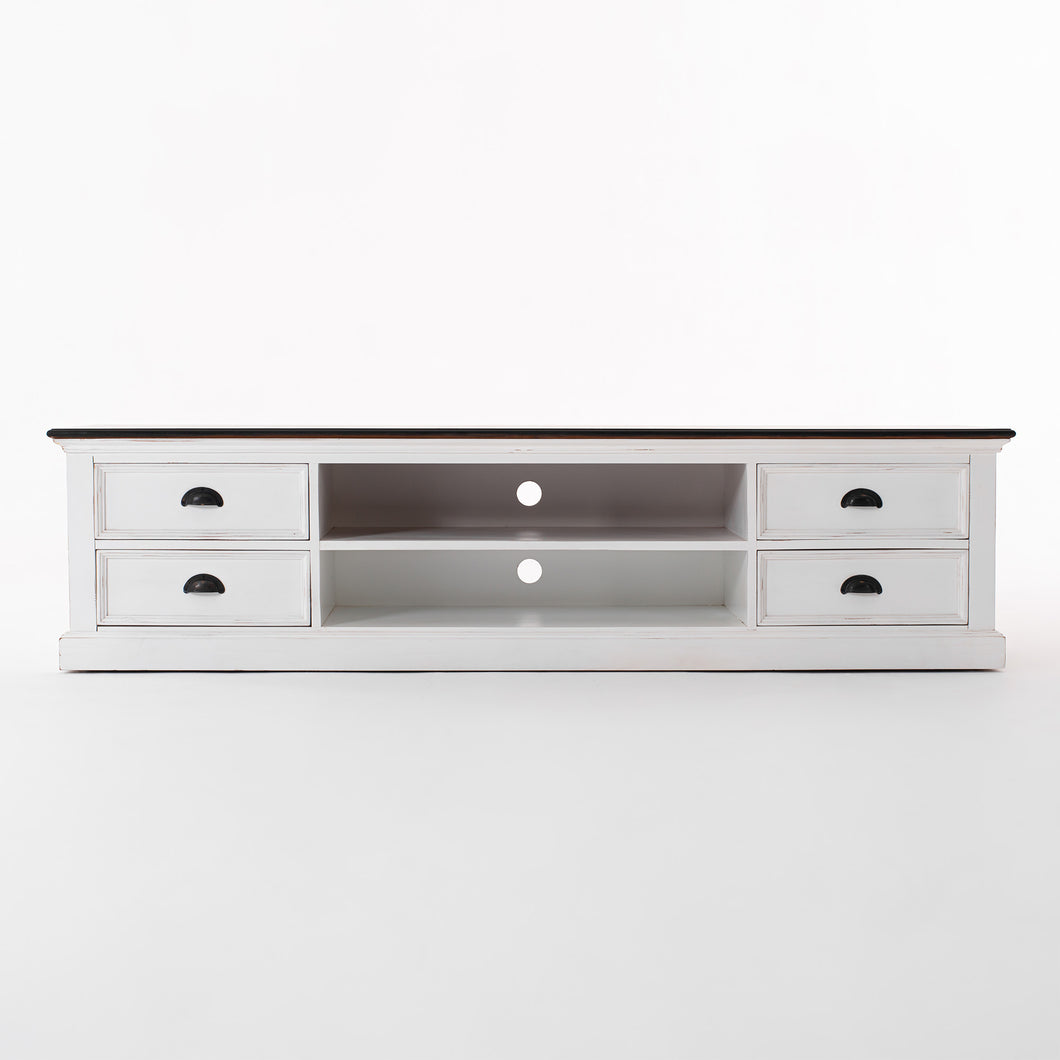 Halifax Accent TV Unit with 4 Drawers