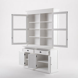 Halifax Glass-Display Hutch Unit