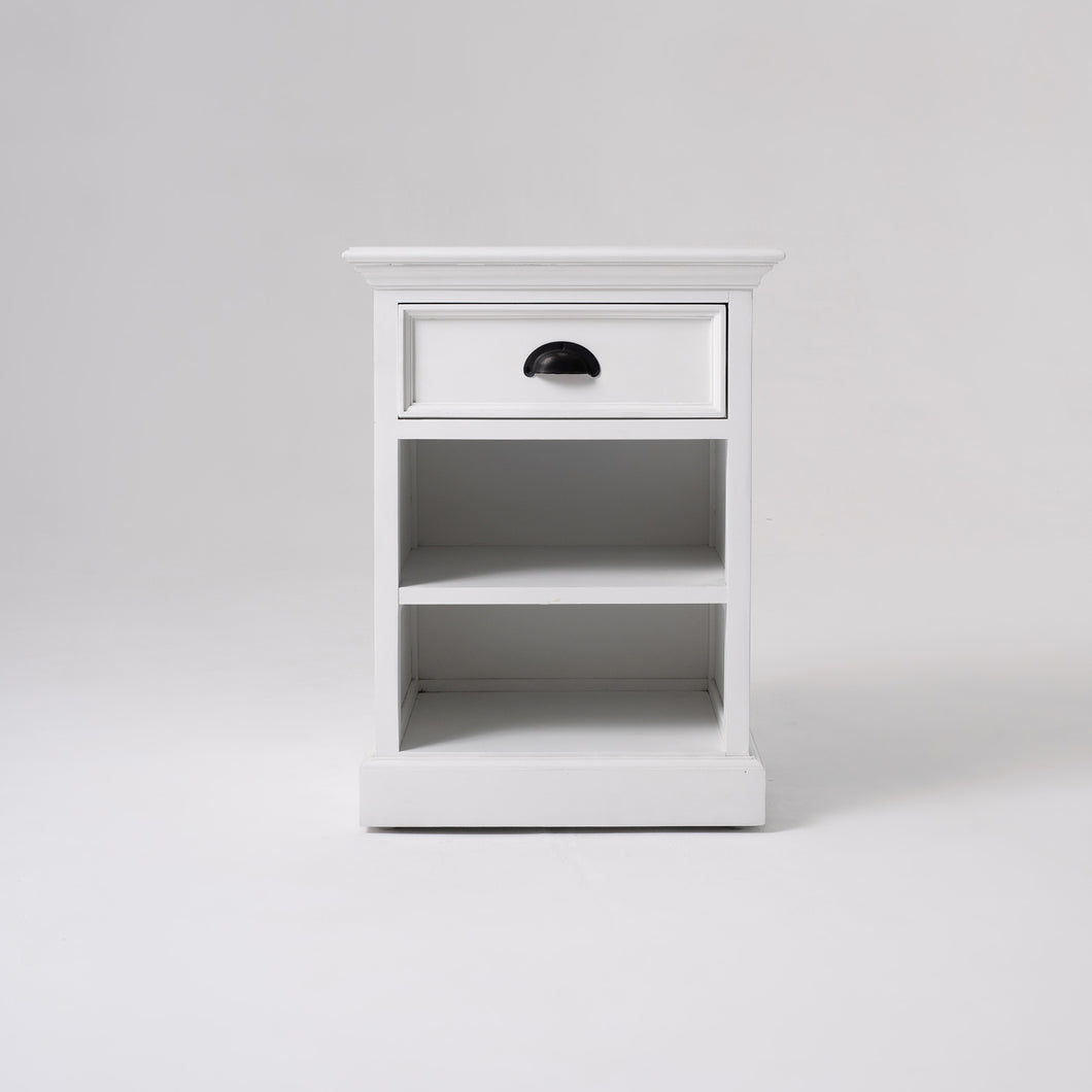NovaSolo Halifax BedsideTable with Shelves