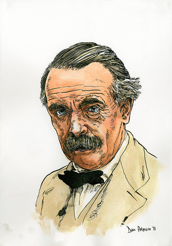 David Lloyd George - Portrait - 30 x 42cm (A3)