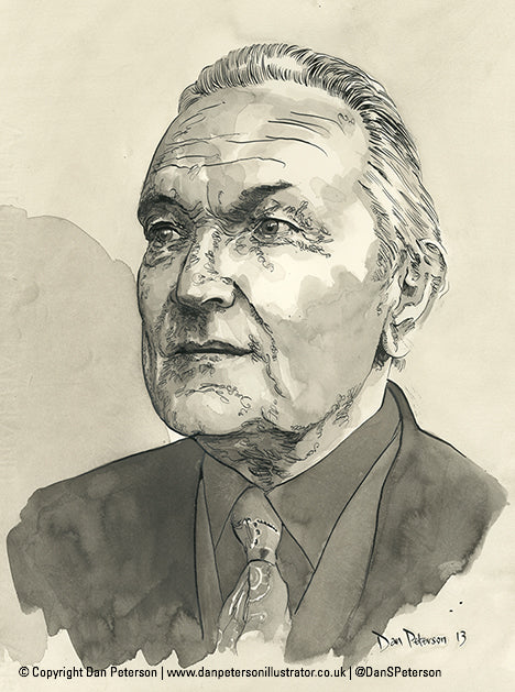 T. Llew Jones Portrait