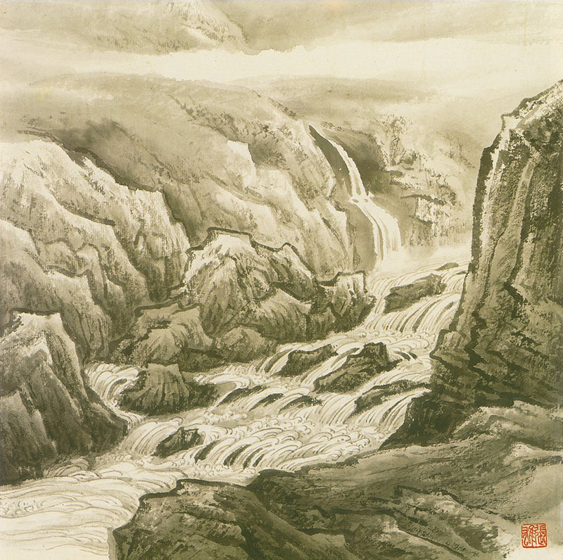Paintings by Zhang Shung from Drawing Mountains and Water