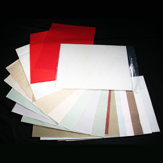 "Holiday Paper Sampler: 26 Cut Sheets (13.5"" X 18"")"