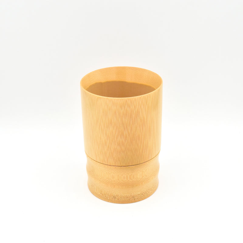 Bamboo Brush Cup