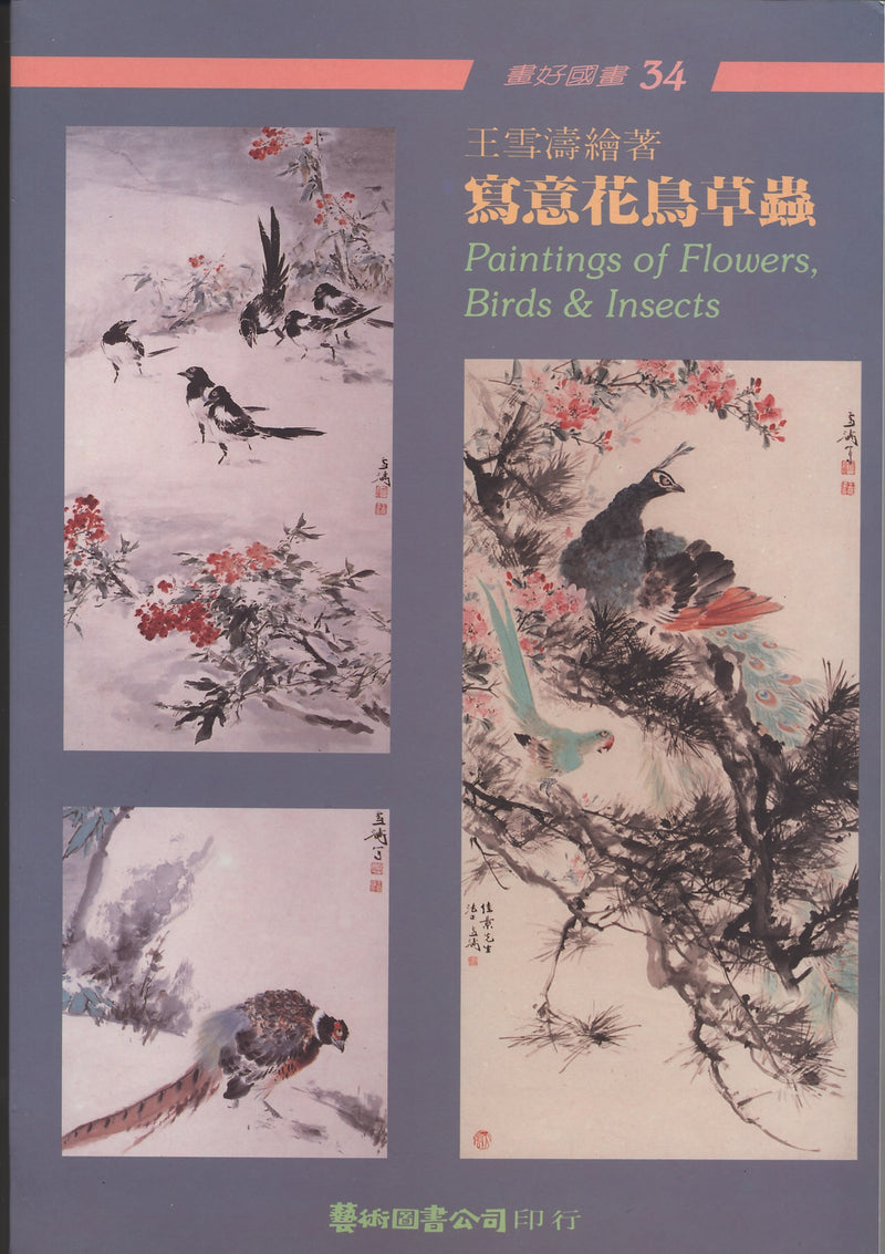 Painting of Flowers, Birds & Insects by Wang Hsueh-t'ao