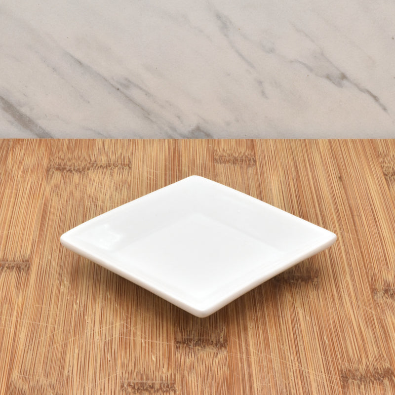 Square Porcelain Ink Dish