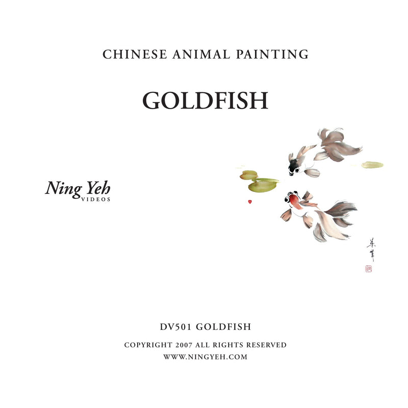 Chinese Animal Painting: Goldfish DVD: one hour