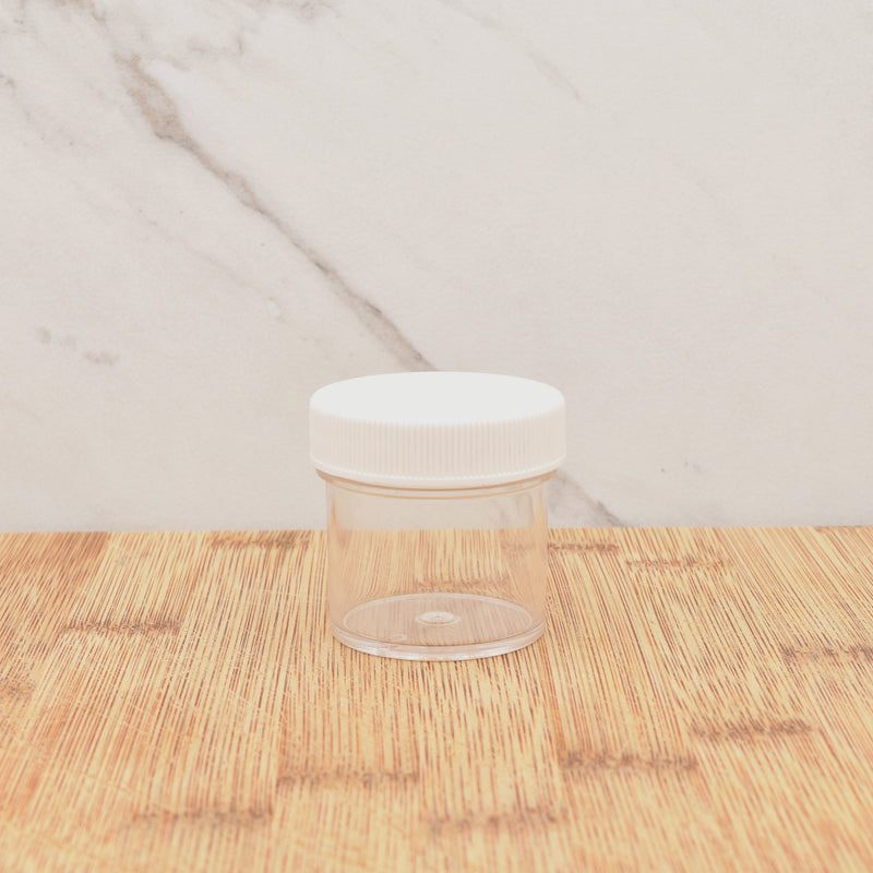Plastic Jar with Lid