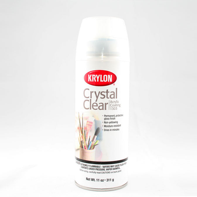 Krylon Cyrstal Clear Spray 11 oz