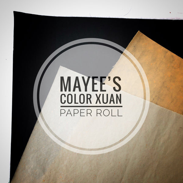 Colored Xuan Paper Roll