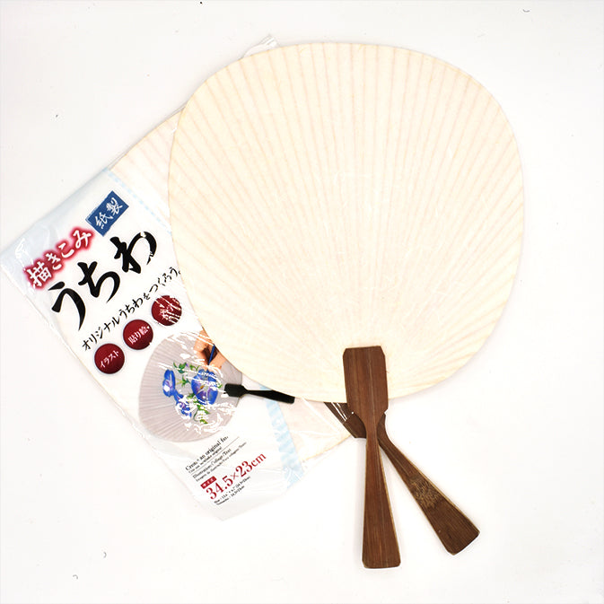 DIY Paint Your Own Decorative Fan