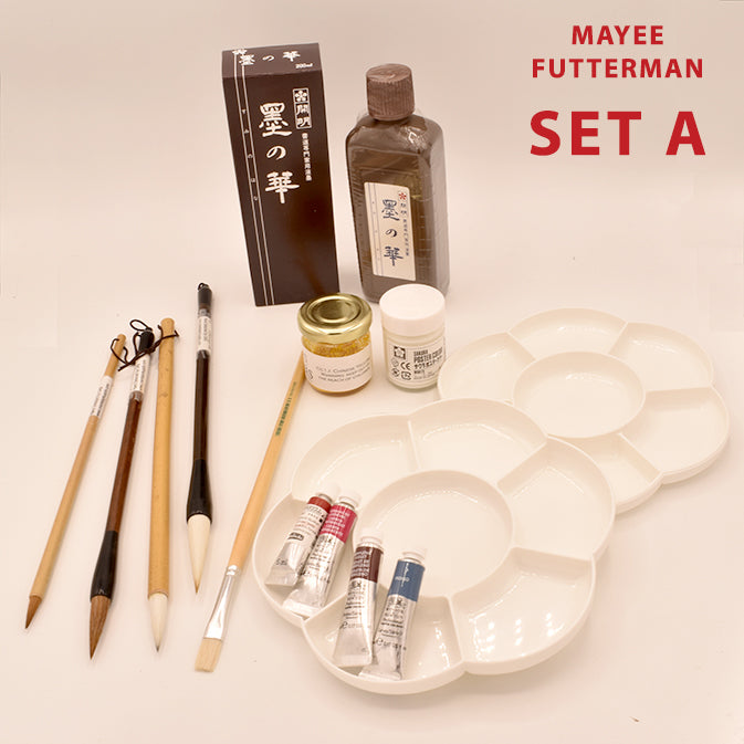 Sets For Mayee Futterman's 'Chinese Brush Painting' Class