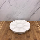 Large Porcelain Flower Plate