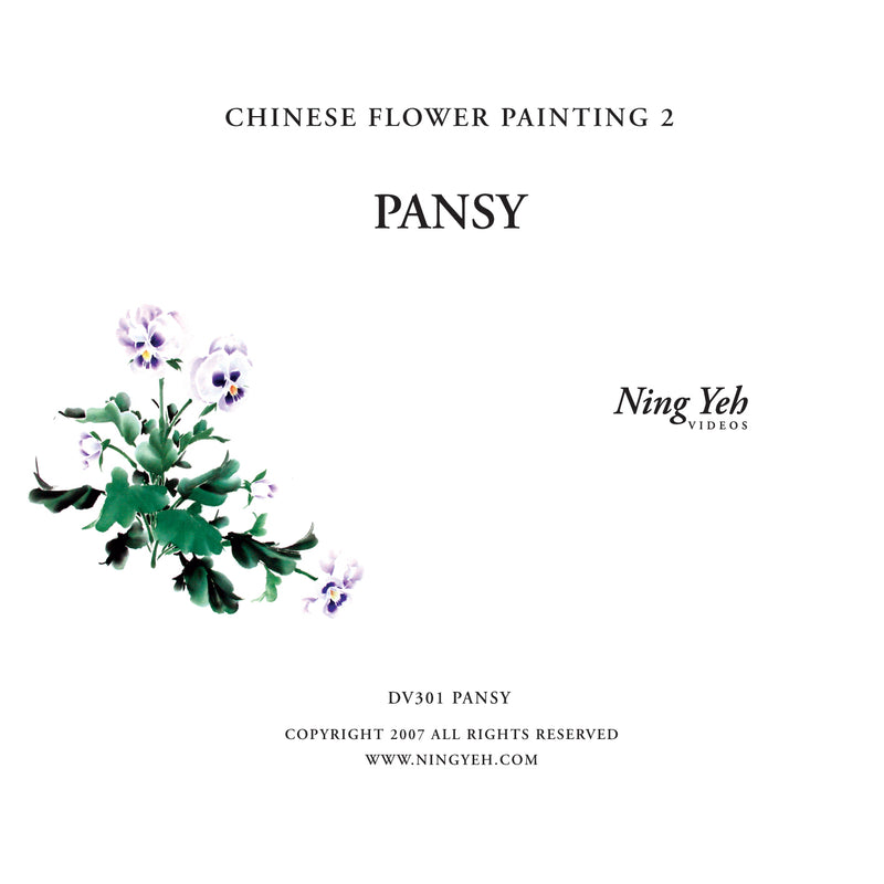 Chinese Flower Painting 2: Pansy Video