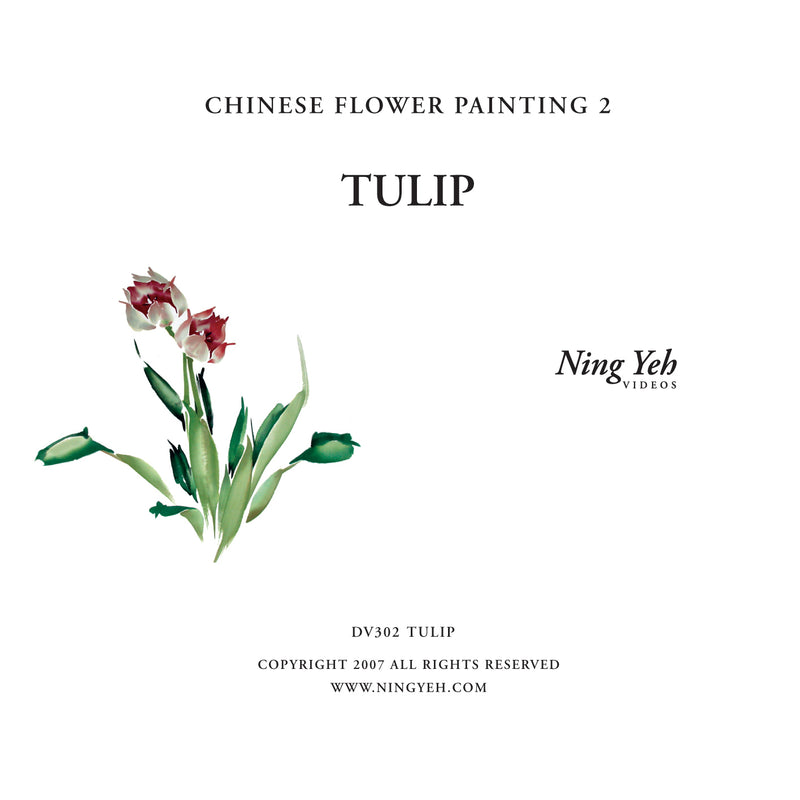 Chinese Flower Painting 2: Tulip Video