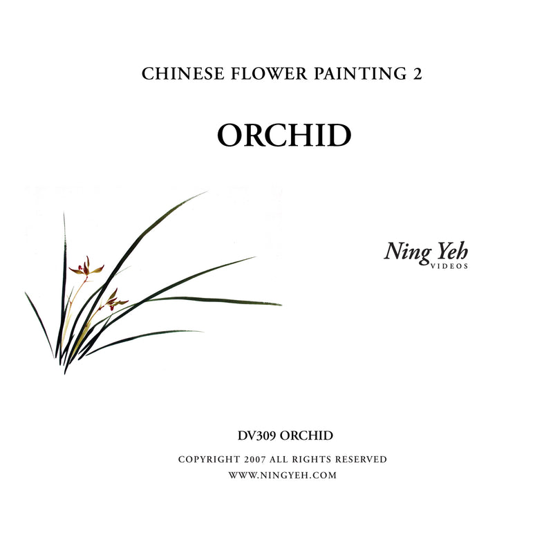 Chinese Flower Painting 2: Orchid