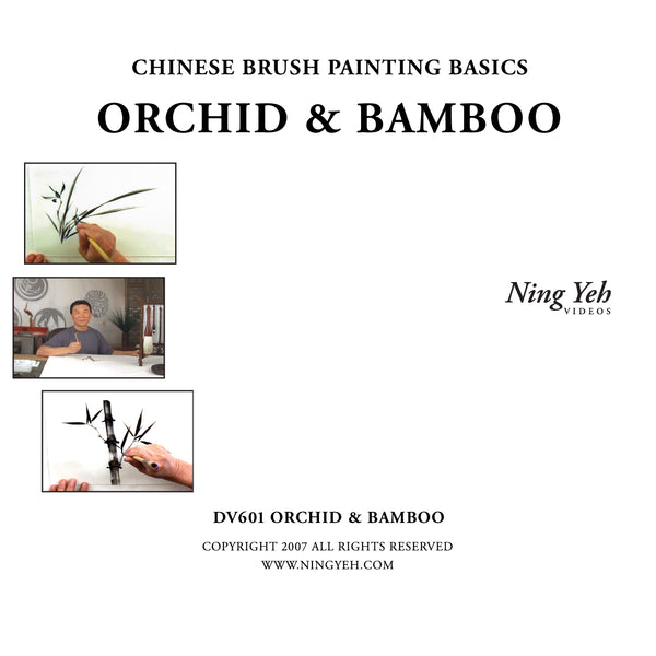 Chinese Brush Painting Basics: Orchid & Bamboo DVD DVD: one hour