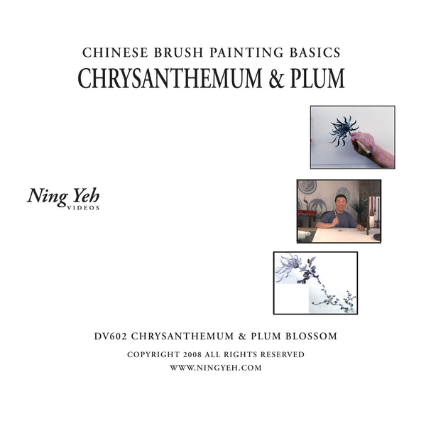 Chinese Brush Painting Basics: Chrysanthemum & Plum Blossom DVD: one hour