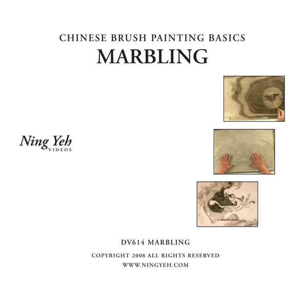 Chinese Brush Painting Basics: Marbling DVD: one hour