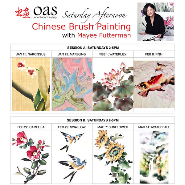 OAS Workshops With Mayee Futterman