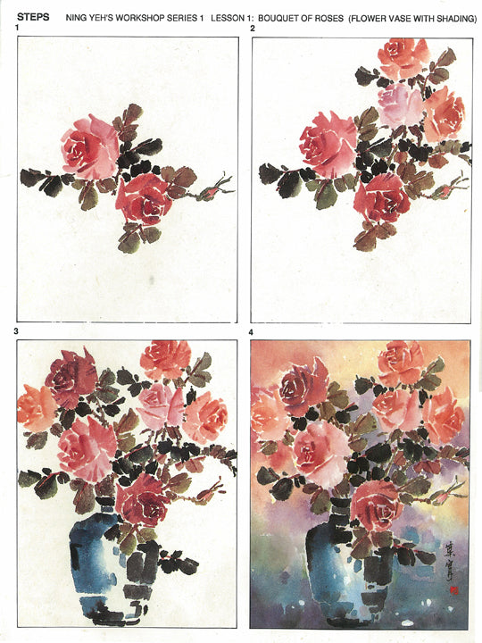 Workshop Series Instructional Booklets by Ning Yeh: Roses