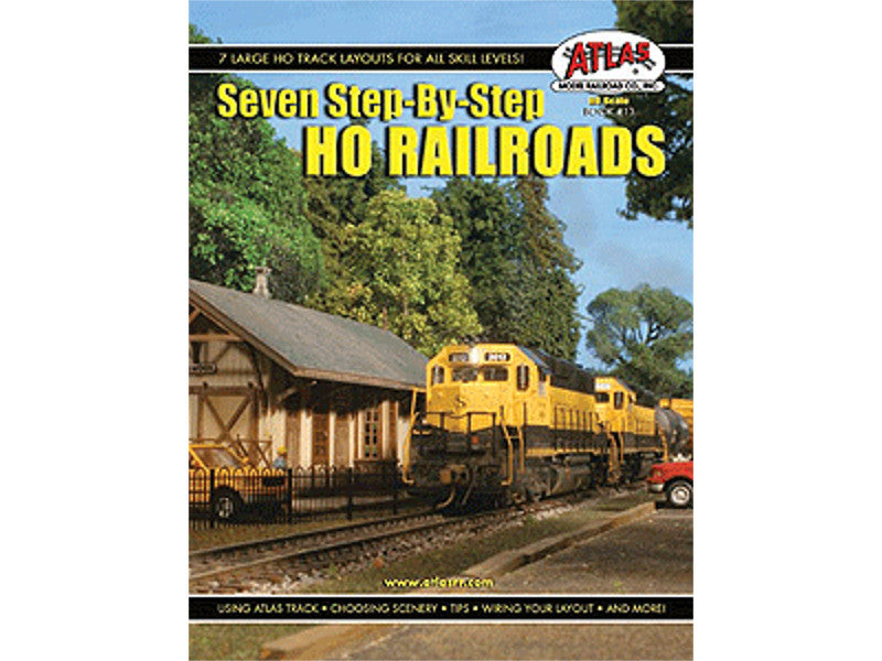 150-13 HO Seven Step-by-Step HO Railroads - All Skill Levels